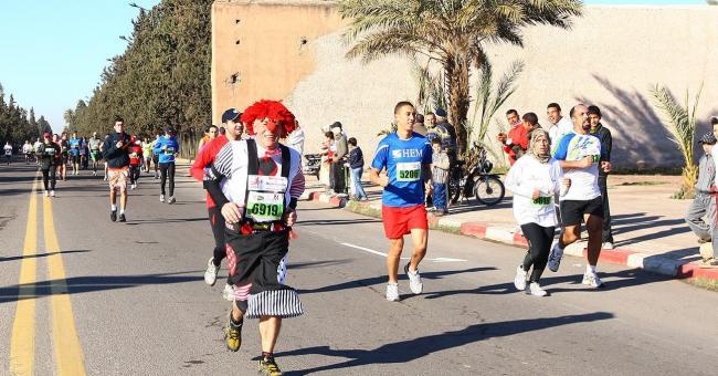 Marathon marrakech