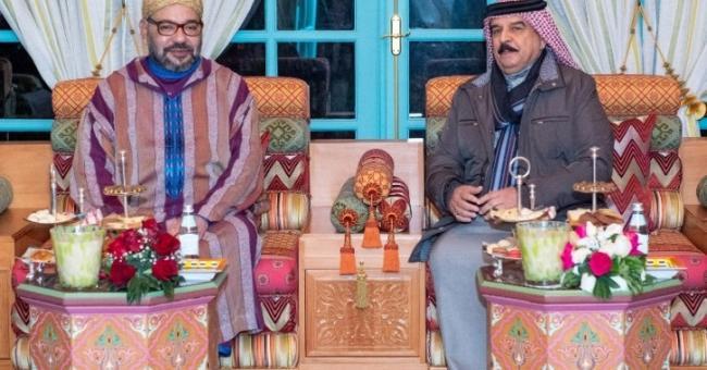 Rencontre entre Mohammed VI et le roi du Bahrein