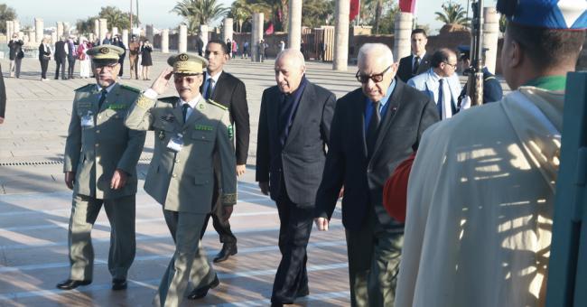 Réunion de la Commission Militaire Mixte maroco-mauritanienne
