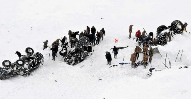 avalanches turquie