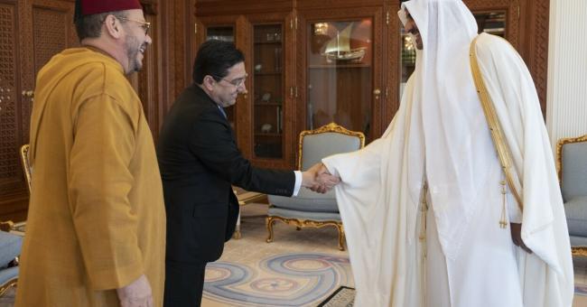 El Himma et Bourita rencontrent l'émir du Qatar