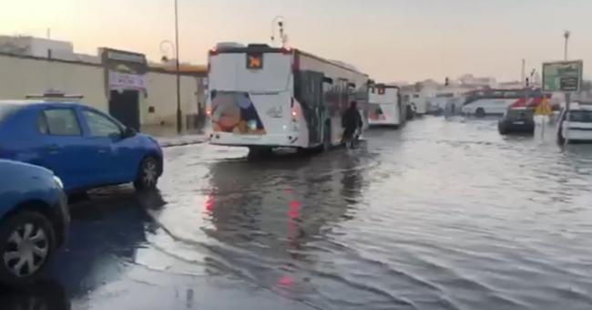 Rabat fait face à des inondations
