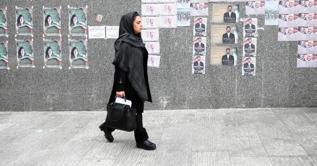 iran scrutin