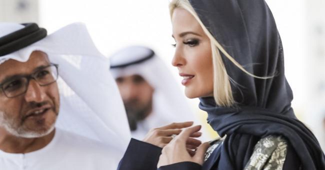 Ivanka Trump porte un hijab