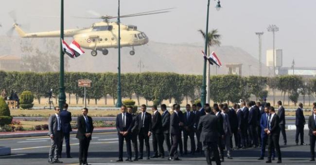 Les funérailles militaires de Hosni Moubarak