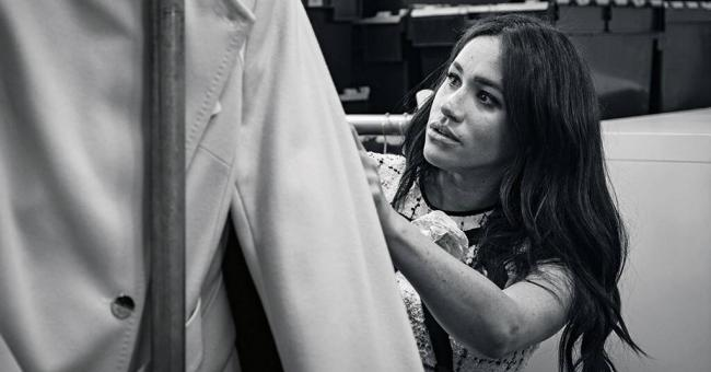 Meghan Markle © Vogue