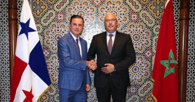 Mohamed Touimi Benjelloun et Tito Rodriguez Mena