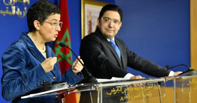 Nasser Bourita et Arancha Gonzalez Laya