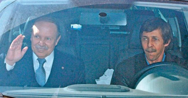 Saïd Bouteflika et Abdelaziz Bouteflika