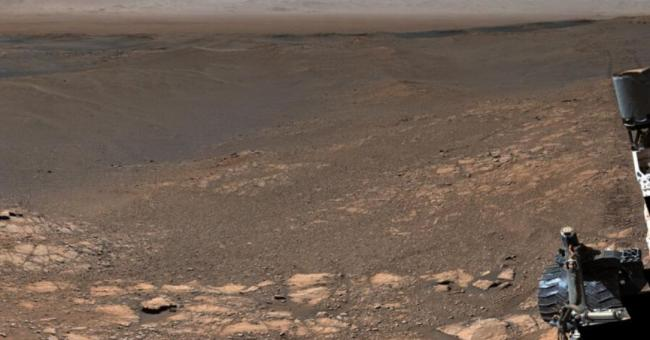 Curiosity immortalise Mars dans un panorama