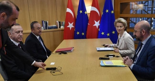 Erdogan à Bruxelles