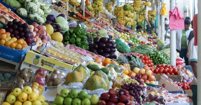 fruits et légumes marocains