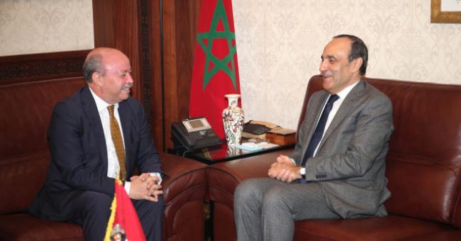 Habib El Malki et Abdelhamid Abdaoui