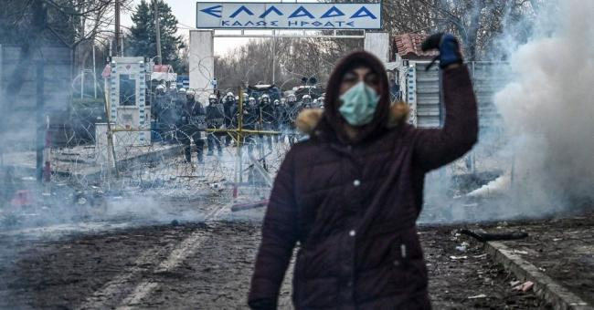 Les migrants tentent de passer en Europe