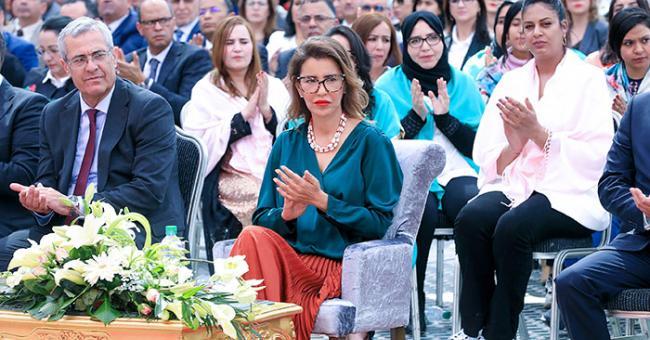 Lalla Meryem préside à Marrakech la cérémonie de célébration de la Journée Internationale de la Femme