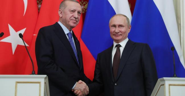 Syrie : Poutine et Erdogan conviennent d'un cessez-le-feu fragile à Idlib