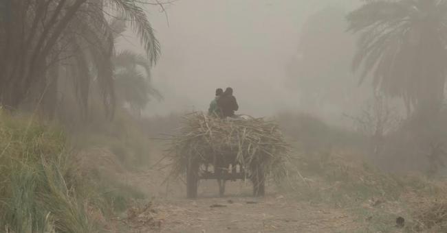 tempête de sable en Égypte