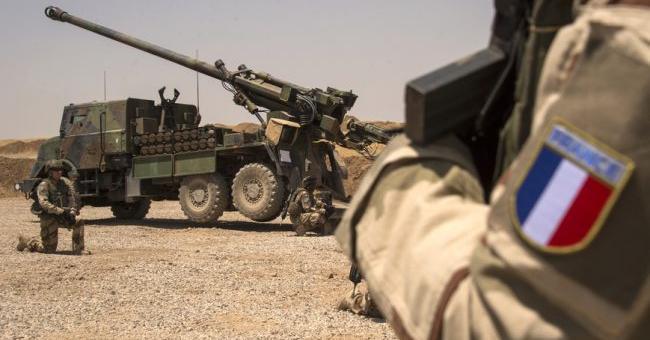 troupes françaises d'Irak
