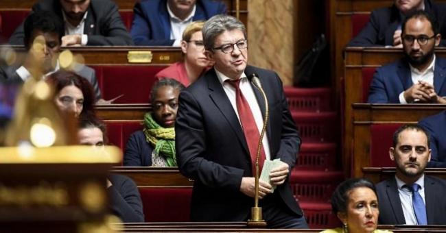 Jean-Luc Mélenchon a fait ce mardi 28 avril, à l'Assemblée nationale