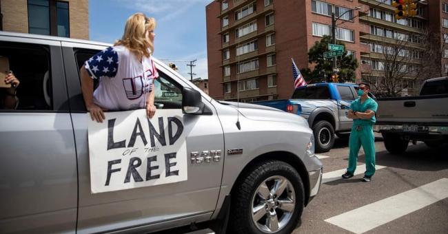 Covid-19 : des manifestations anti-confinement aux États-Unis