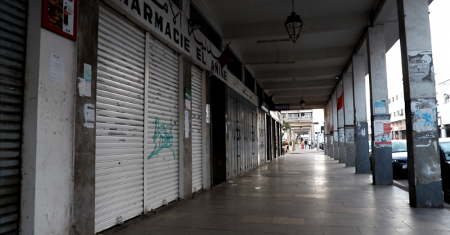 Le coronavirus transforme Rabat en ville fantôme