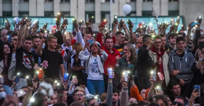 Biélorussie manifestations