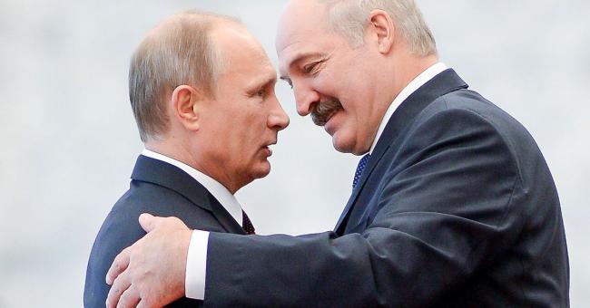 Poutine et Loukachenko