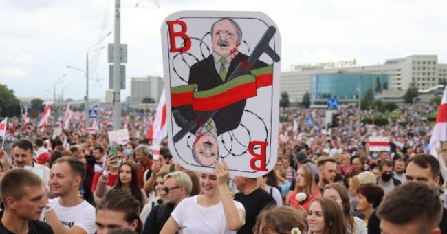 L'opposition en Biélorussie