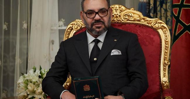 Le roi Mohammed VI a reçu sa première dose du vaccin contre la Covid-19 © DR