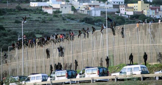 Sebta et Melilla migration