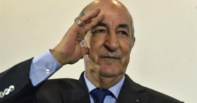 Abdelmadjid Tebboune, président de la République algérienne