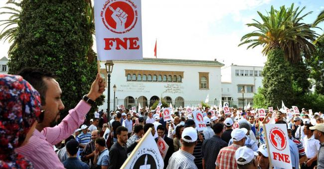 Grève début décembre des enseignants du public