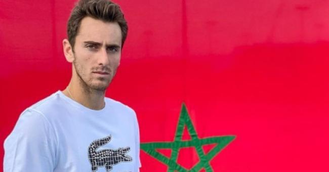 Le tennisman franco-marocain Elliot Benchetrit