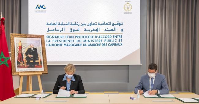 protocole d'accord AMMC