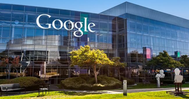 Siège de Google à Mountain View en Californie