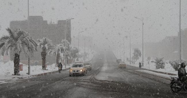 Fortes averses, rafales et chutes de neige prévues ce week-end