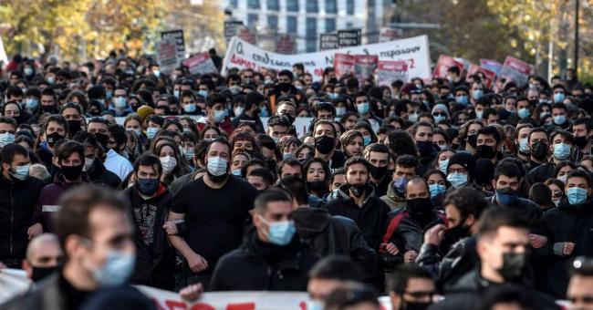 Grèce : manifestations pour un meilleur système d'éducation
