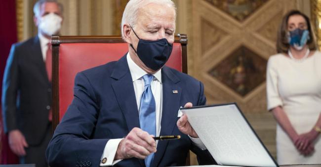 Les moments forts de l'investiture de Joe Biden