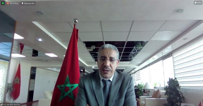 Rabbah participe à la réunion ministérielle sur les énergies renouvelables