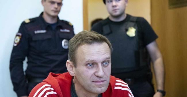 L'opposant russe Alexeï Navalny, le 22 août 2019 à Moscou © Alexander Zemlianichenko / AP