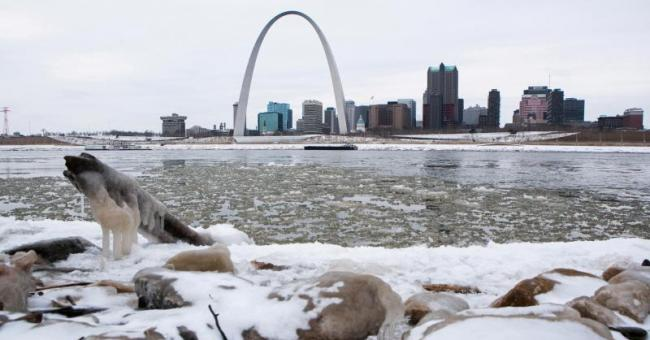 Un froid polaire s'abat sur les USA © Reuters