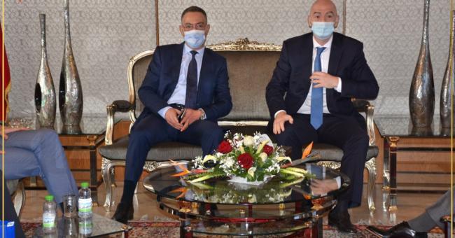 FIFA : pour Infantino, le Maroc est un grand pays de football