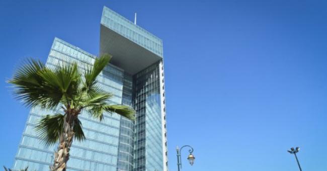 Le siège de la société Maroc Telecom à Rabat © Jeune Afrique