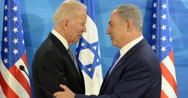 Le président américain Joe Biden et le Premier ministre israélien Benjamin Netanyahu © DR