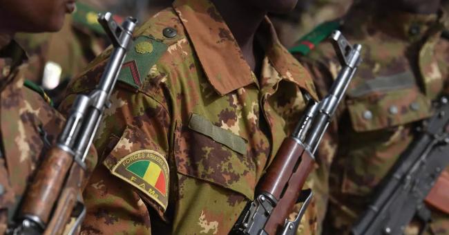 Soldats de l'armée malienne à Gao, au Mali, le 24 février 2019 © AFP - Alain Jocard
