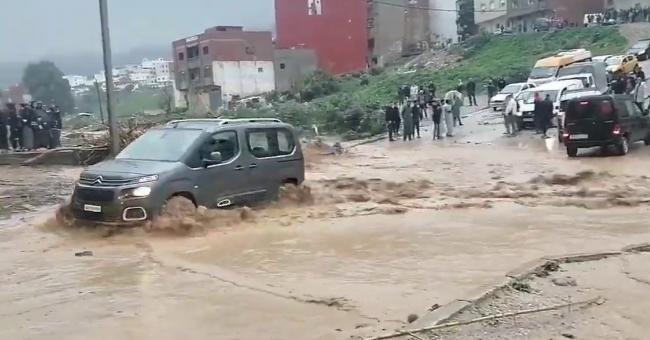 De nouvelles inondations à Tétouan