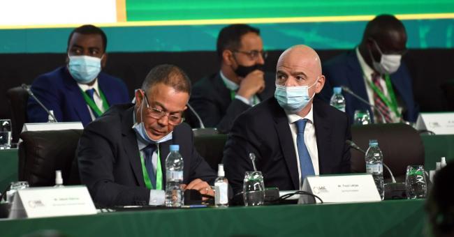 La 43e Assemblée générale ordinaire et élective de la CAF © Fédération royale marocaine de football (FRMF)/Twitter