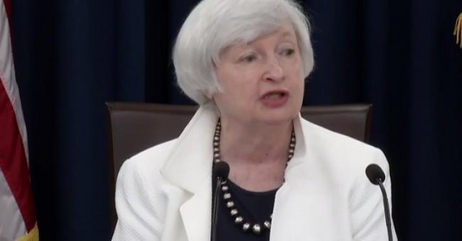 La secrétaire américaine au Trésor, Janet Yellen,