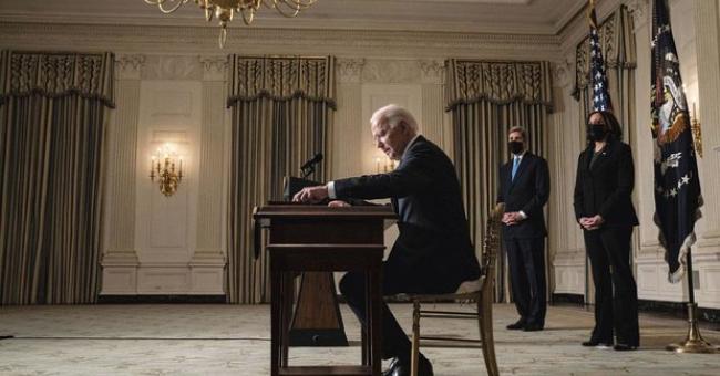 Le président américain Joe Biden © GETTY IMAGES