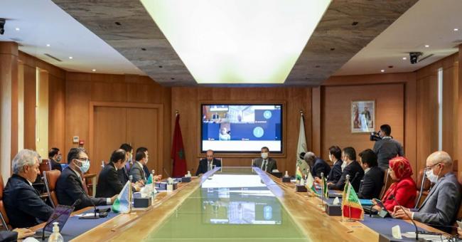 Réunions des Conseils d'Affaires, qui jouent un rôle important dans la promotion de la coopération économique et commerciale entre le Maroc et les pays du continent © DR
